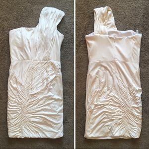 Foley + Corinna Ivory Bachelorette Mini Dress XS